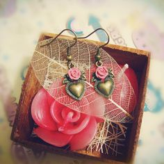 Rose love earrings - Interestyle