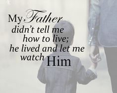Father Lives and Leads by PaperCaperCreations on Etsy