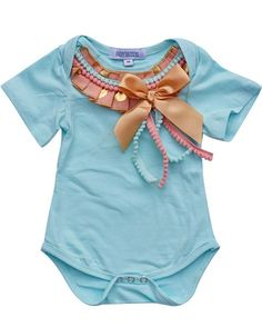 For lovers of all things fancy, it doesn't get much more adorable than this! These sweet onesies are embellished with ribbons and bows, and all sorts of frills! They pair perfectly with our coordinati