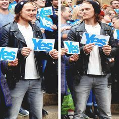 """outlander-starz: """" Scottish Independence Rally in Glasgow Sept. 17, 2014 """""""