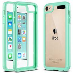 ULAK [CLEAR SLIM] High Quality Soft TPU Case for iPod Touch 6 5th Generation Bumper Hard Cover _2015 Released (Mint Green) ULAK http://www.amazon.com/dp/B016ZDUCRQ/ref=cm_sw_r_pi_dp_4V9Pwb01XFND6