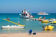 Beach Recreations In Cyprus Agia Napa Cyprus A September 17
