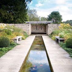 Garten Terrasse Wohnideen Möbel Dekoration Decoration Living Idea Interiors home garden - Moderner Steingarten