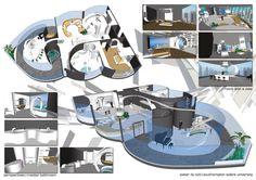 Young Interior Designer Award  Pieter du Toit - Finalist Presentation Board Design, Type Setting, Architect Design, Package Design, Master Bathroom, Layouts, Awards, How To Plan, Interior Design