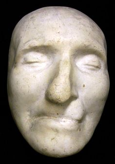 death mask of Thomas Paine