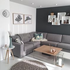 New Dimension For A Country Style Or Rustic Home Design. Living Room Decor Grey Walls, Living Room Modern, Living Room Sofa, Home Living Room, Living Room Designs, Commercial Interior Design, Interior Design Companies, Grey Painted Rooms, Rustic Home Design