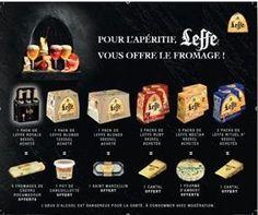 Quand la bière Leffe offre le fromage… sur...