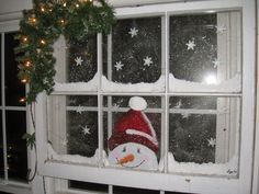Repurposed For Life: Search results for snowman window