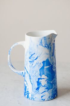 DIY Marble Pitcher