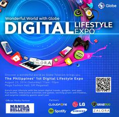 Globe Telecom First Digital Lifestyle Expo in Philippines - MabZiCLe | MabZTech