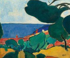 André Derain (1880-1954) Vue de Cassis, 1907