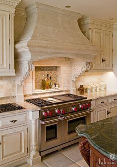 Showcase - European Inspired Kitchen