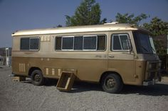 "This is a 20 FOOT 1971 CORTEZ RV Ours was a 1972 rear door model, gold paint top & bottom and ""wood"" strip at the midpoint.  Great memories..."