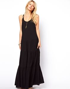 ASOS+Maxi+Dress+With+Tiers