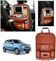 Hyundai Elantra Car Seat Back Multi Pocket Storage Bag Brown Price - Laura Car, Car Accessories List, Jetta Car, Volkswagen Jetta, Car Body Cover, Tucson Car, Car Seat Cushion, Chevrolet Aveo