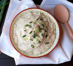 Hidden Valley Cauliflower Mash skip milk or sub almond milk or heavy whipping cream.