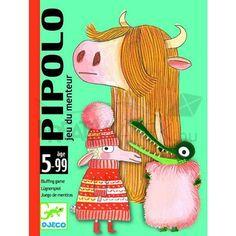 Pipolo Blöffölős kártyajáték Djeco