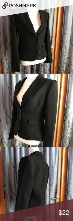Tahari size 6 black blazer Tahari Arthur Levine size 6 black blazer Tahari Jackets & Coats