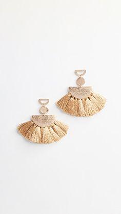 Ava Tassel Earrings
