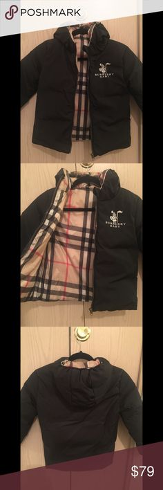 New Children's Burberry Coat Children's Burberry Coat. Size 4T (4years old) Nice, wind proof, and warm! Burberry Jackets & Coats