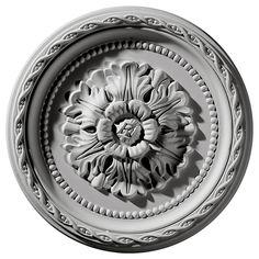 "Palmetto 11.5""H x 11.5""W x 1""D Ceiling Medallion"