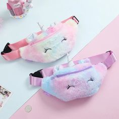 Buy Cute Unicorn Female Waist Belt Bag Phone Pouch Chest Bag at eSellect! Great selections of high-quality products! Unicorn Kids, Cute Unicorn, Unicorn Outfit, Rainbow Unicorn, Unicorn Room Decor, Cute Crossbody Bags, Girls Winter Fashion, Unicorn Fashion, Girls Bags