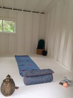 My new yoga space. Zen den. She sheds.