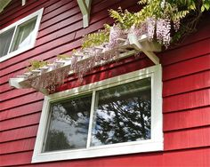 window trellis | uploaded to pinterest