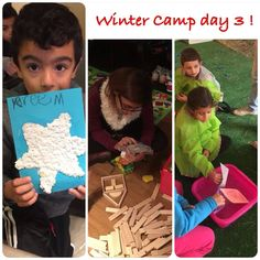 Activities from our Winter Camp