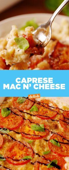 Caprese Mac and CheeseDelish