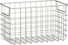 Large Wire Basket in Storage Baskets, Bins | Crate and Barrel