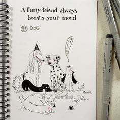 Monila handmade ,dog,i ghirigori di Monila,illustrazione,illustration