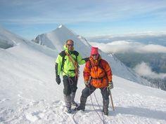 For a newbie go to Mont Blanc in the company of expert guides is a unique experience. Para un novato ir al Mont Blanc en compañía de guías expertos es una experiencia inigualable.