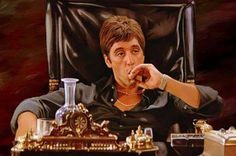 Scarface!! The only part that was bad was when he died he might not have even been dead just knoked out