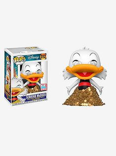 Funko Disney DuckTales Pop! Scrooge McDuck Vinyl Figure 2017 Fall Convention ExclusiveFunko Disney DuckTales Pop! Scrooge McDuck Vinyl Figure 2017 Fall Convention Exclusive,