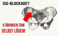 Hast du Schmerzen im unteren Rücken in Form einer ISG Blockade? In diesem Video zeige ich dir 5 einfache Übungen, wie du deine ISG Blockade selbst lösen kann...