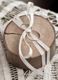 ADORO: Porta-alianças // wedding ring holder