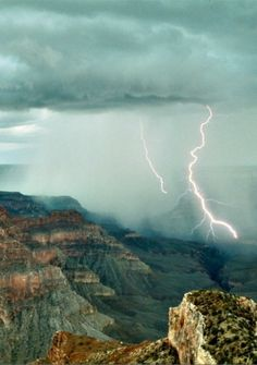 lightning in the canyon by audreysullivan