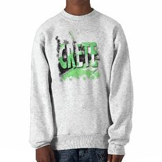 crete green.jpg sweatshirt £19.70 also available in many different styles and colors both young and old, as well as badges stickers mugs etc