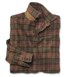 "The Perfect Flannel Shirt Nothing says casual comfort like our men's plaid flannel shirts. RUST PLAID - ""I know this is a man's shirt - but I LOVE it for myself. It's thick, soft and warm. Perfect for those cold days with a pair of jeans and thick socks. But it's also classy enough to wear out with a turtleneck underneath. I bought two for myself, so I wouldn't have to steal my husband's."""