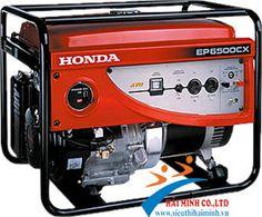 http://sieuthidienmaychinhhang.vn/vi/san-pham/may-phat-dien-honda-ep-6500cx-de-no-59.html Máy phát điện Honda EP 6500CX đề nổ Ổn áp tự động AVR - Loại máy HONDA GX390 - Kiểu máy 4 thì, 1 xi lanh, làm mát bằng quạt gió - Dung tích xi lanh 389 cc - Công suất cực đại 13.0 mã lực / 3600 v/p - Kiểu đánh lửa Transito từ tính ( IC ) - Kiểu khởi động: Đề và giật nổ bằng tay.  - Bình Acquy 12 Volt. - Dung tích bình xăng: 25 lít - Dung tích nhớt 1 lít. - Tiêu hao nhiên liệu: 2 đến 2.2 lít/giờ. - Điện…