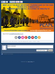 Check out this  ITB BERLIN 6-10 march