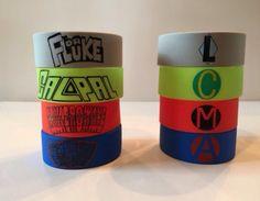5sos Don't Stop Superhero Wristbands