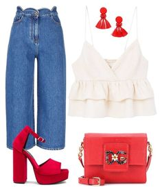 """""""Sunday"""" by fru316 on Polyvore featuring Valentino, Jeffrey Campbell, MANGO and Dolce&Gabbana"""