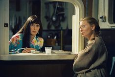 Cate Blanchett and Anjelica Huston in The Life Aquatic with Steve Zissou (2004)
