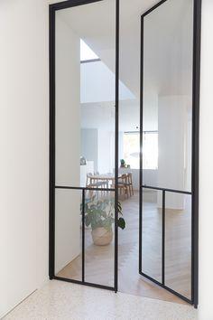 Steel Frame Doors, Steel Doors And Windows, Partition Door, Dining Room Windows, Shed Homes, Duplex, Bedroom Doors, Iron Doors, Door Design