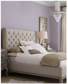 I wanted this colour with grey highlights and cream accents in the bedroom but the colour I chose came out a lot lighter