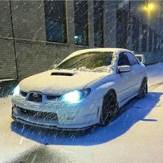 Subaru in winter! 🚗