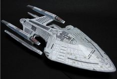 Star Trek - Prometheus Class Starship Paper Model - by Ikenohata