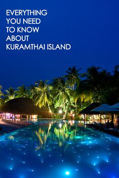 Keep up to date with all that's happening on Kuramathi Island Resort, Maldives